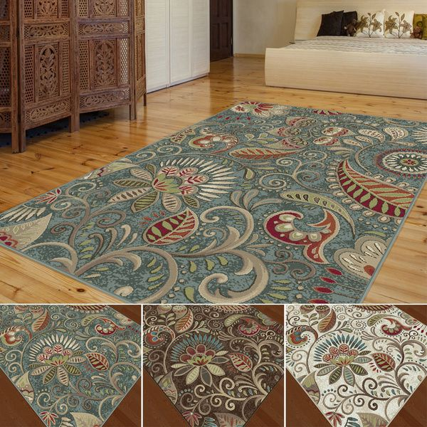 Overstock Com Online Shopping Bedding Furniture Electronics Jewelry Clothing More Floral Area Rugs Area Rugs Transitional Area Rugs