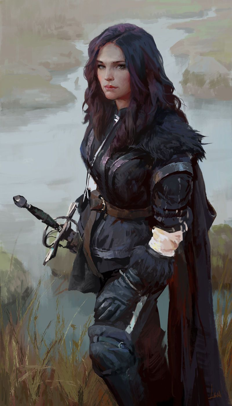 April Cannot Come Soon Enough Character Portraits Fantasy Girl Warrior Woman