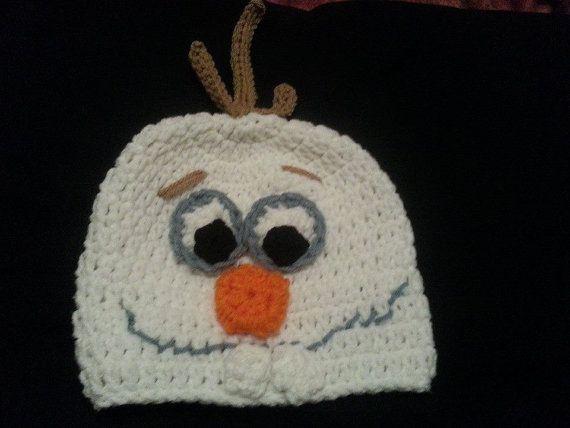 Olaf Hat by KizzysCustomCreation on Etsy, $18.00