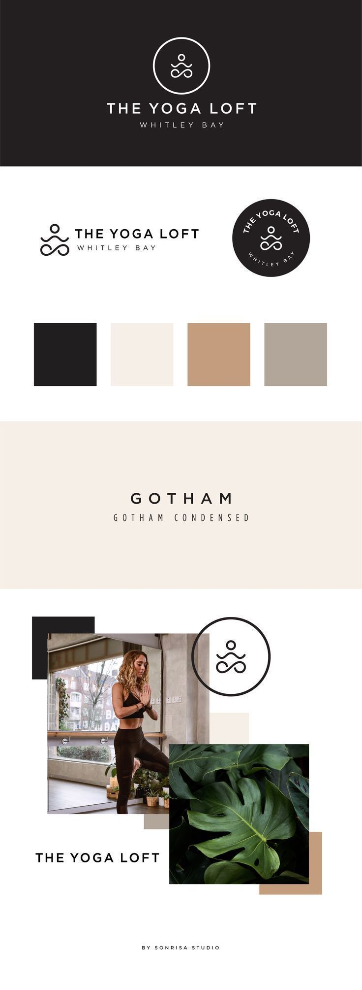 Yoga And Wellness Brand Design And Mood Board In 2020 Identity Design Logo Brand Identity Design Logo Inspiration Logo Design Inspiration Branding