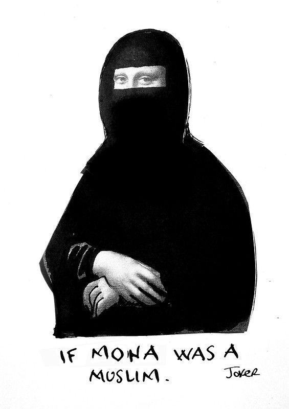muslim mona by Loui  Jover