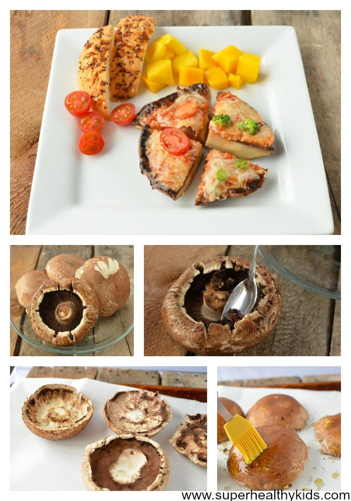 Portabella Pizzas For Kids   Healthy Ideas for Kids