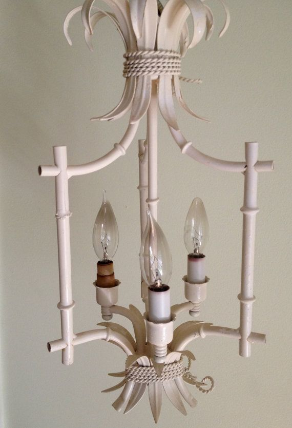 Vintage faux bamboo chandelier chinoiserie bali hai henry link vintage faux bamboo chandelier chinoiserie bali by agelessalchemy 27500 aloadofball Choice Image