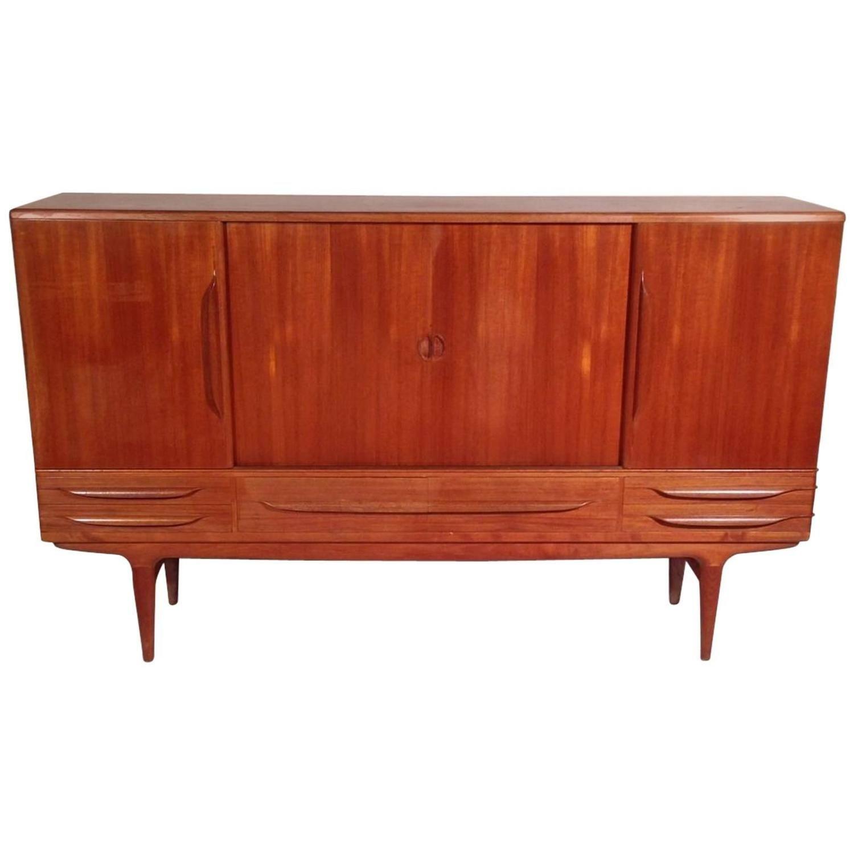 Vintage Scandinavian Buffet Or Sideboard By Johannes Andersen For Sibast 1 Vintage Sideboard Sideboard Cool Furniture