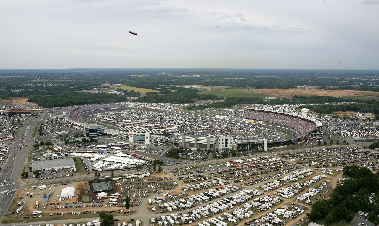 Charlotte Motor Speedway Nascar Track Sports And