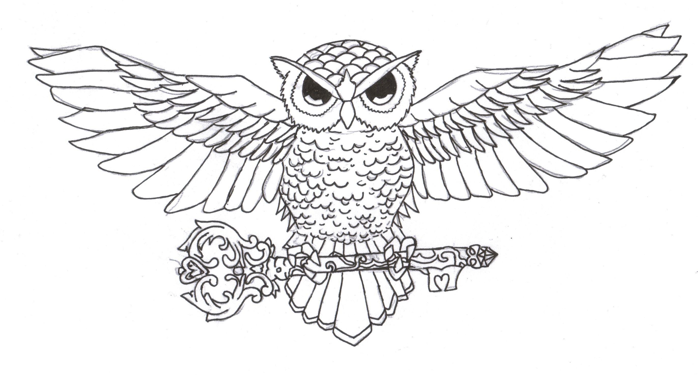 Owl Tattoo Design By Owl Chest Tattoo Designs Drawings Owl Tattoo Chest Owl Tattoo Design Celtic Owl Tattoo Design