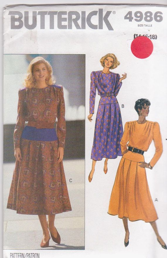 Sewing pattern for loose fitting long sleeved by beththebooklady, $4.99