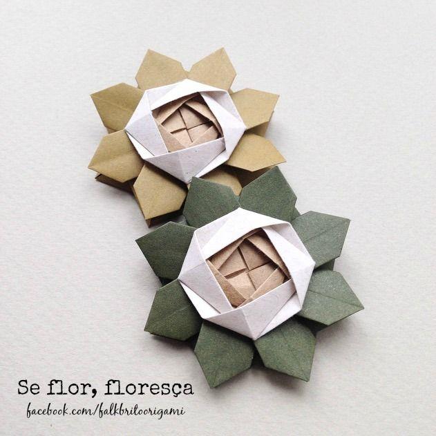 Falk Brito Origami: Janeiro 2016