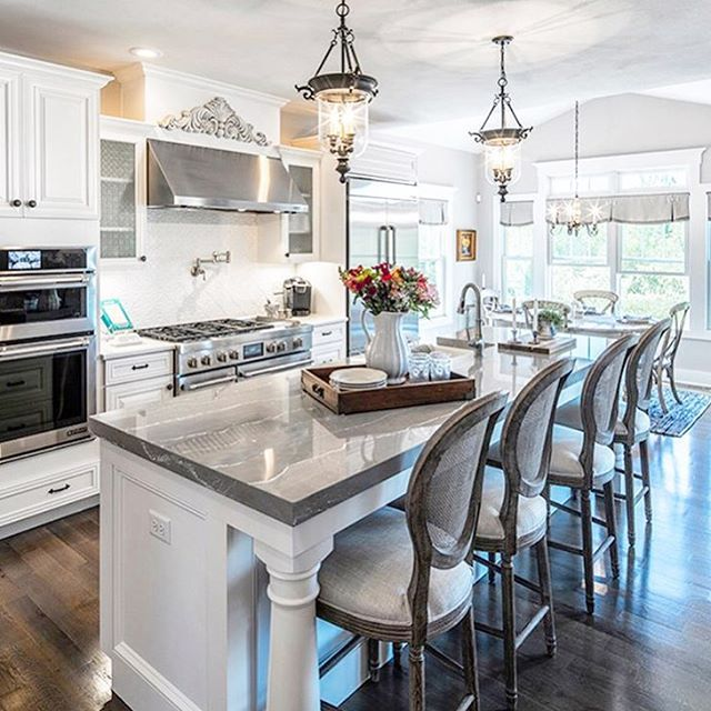 Grey Kitchen Marble: @kimkhazel- Cambria Clareanne Design Countertops- Gray