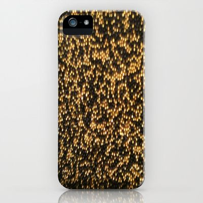Golden Black iPhone & iPod Case by TheseRmyDesigns - $35.00