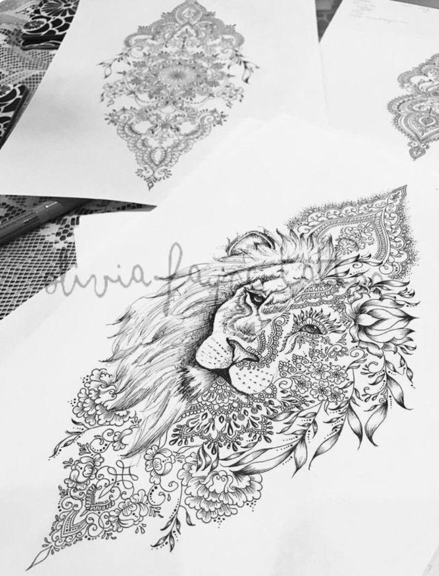 Pin Von M Schu Auf Tattoo Tattoos Mandala Tattoo Und Lion Tattoo