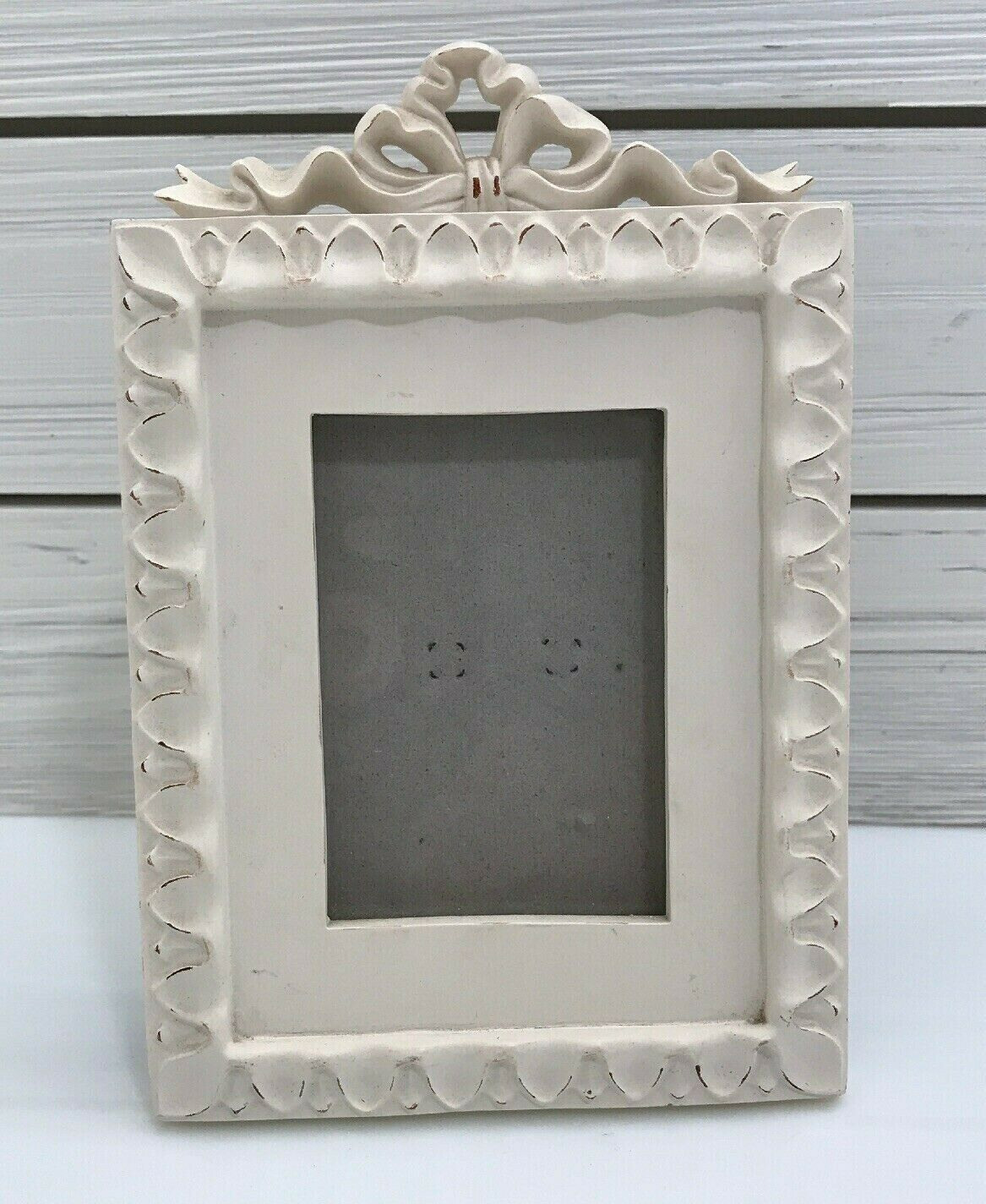 Fetco Picture Frame Free Standing Or Hanging 2 5 X 3 5 Swedish Bow