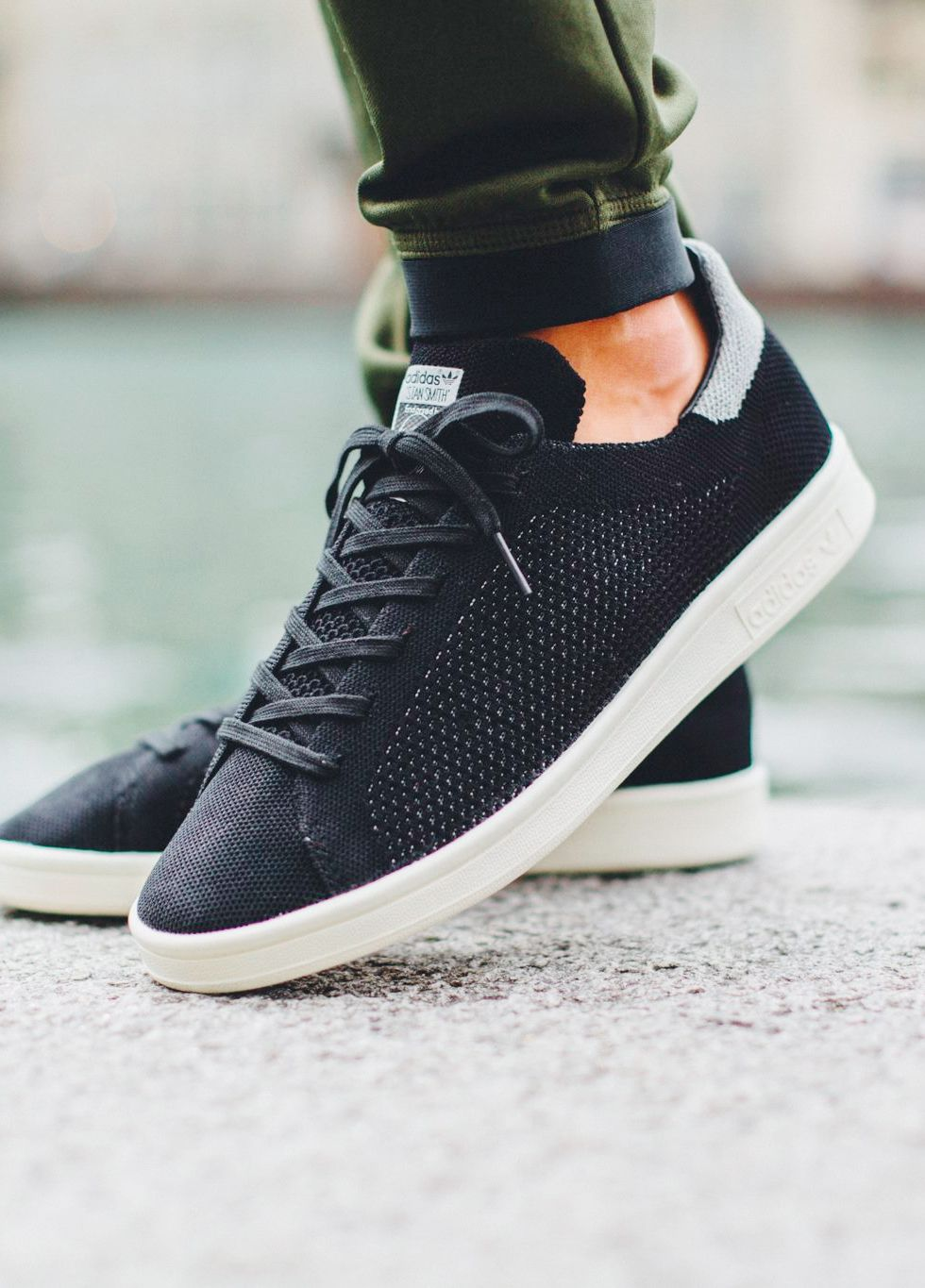 Black · Adidas Consortium Stan Smith Primeknit ...