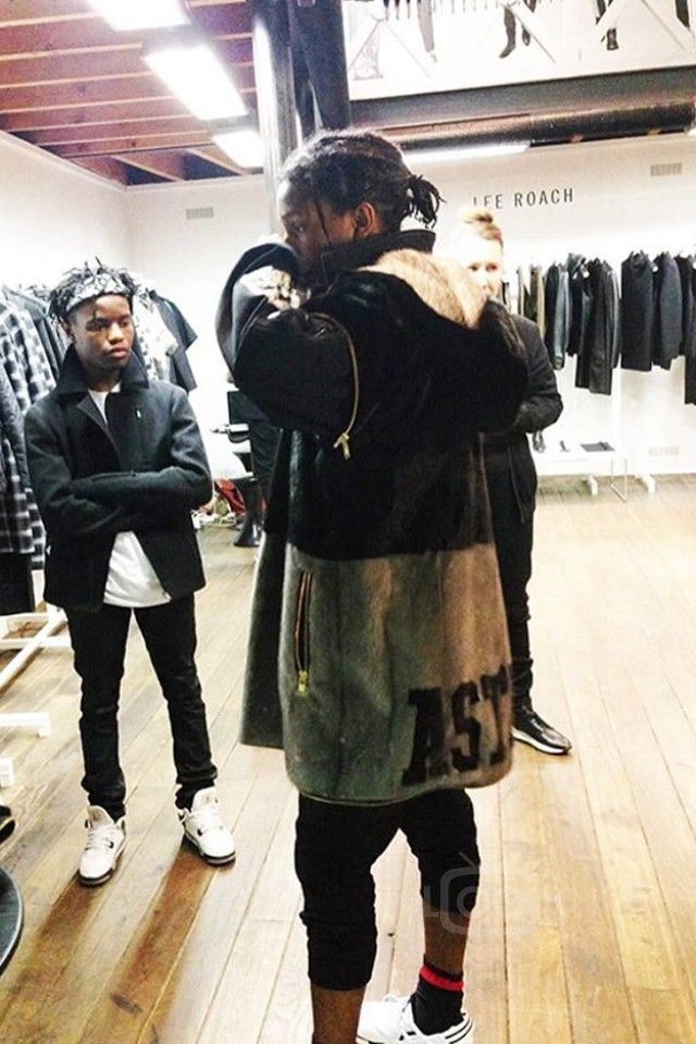 5e830869a6b86 ASAP Rocky - Trying on some new clothes with Ian Connor on
