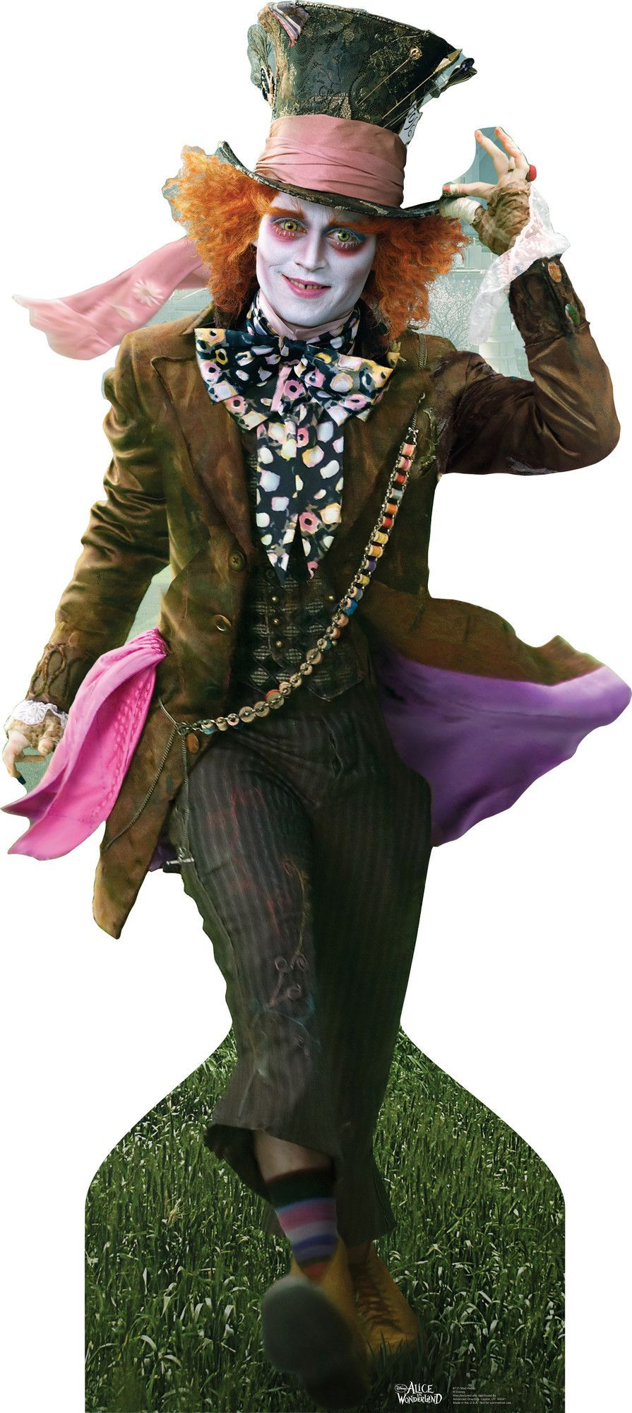 Mad Hatter Johnny Depp Lifesized Stand Costume Costumes
