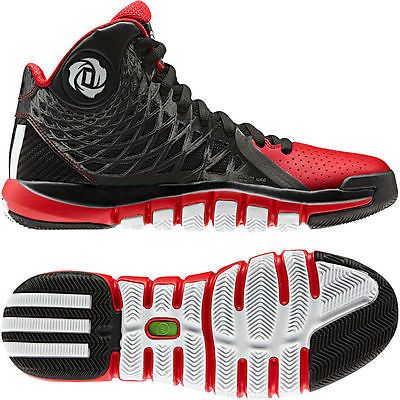brand new 0da97 59075  Adidas d rose 773 ii 2 derrick black white red q33229  men s  basketball  shoes…
