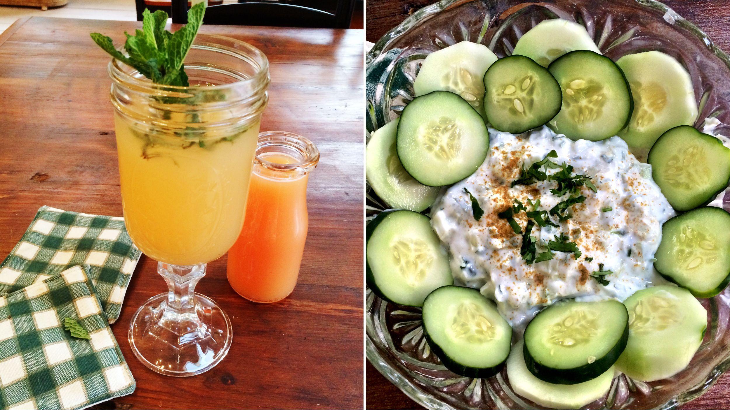 Beat the bloat! Make Joy Bauer's iced tea, cucumber dip