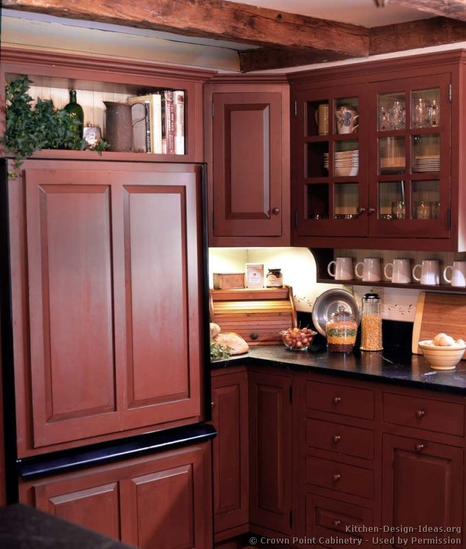 Kitchen Idea Of The Day Early American Kitchens By Crown Point Cabinetry