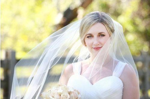 Our beautiful bride megan!