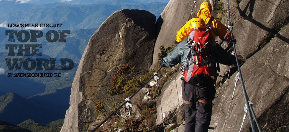 Going to climb to Mt.Kinabalu at august! ...and come down via ferrata, scared but at the same time sooooooo exited! :D