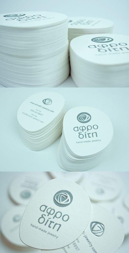 Aphrodite Business Card - Designed logo and business card for ...