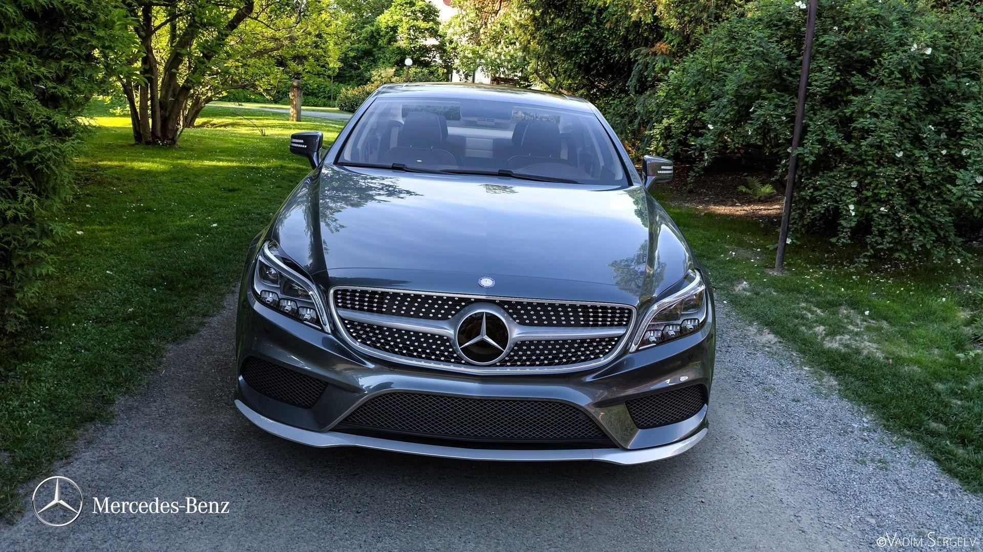 Mercedes Benz Cls 500 2015 Vadim Sergeev On Artstation At Https
