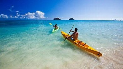 With Calm Waters Lanikaibeach Offers Great Kayaking And