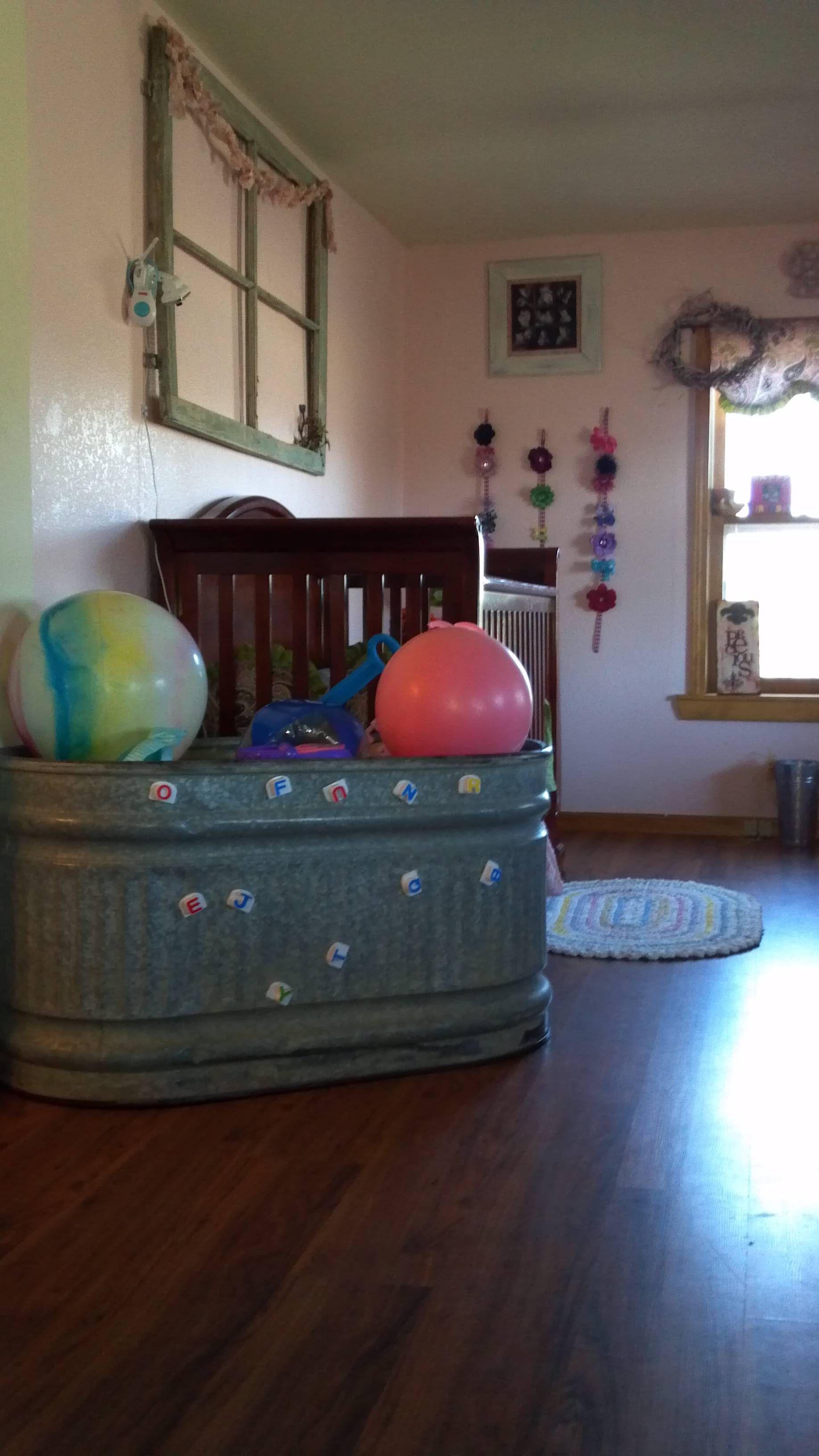 The perfect toybox for my farm house Farm boy room, Farm