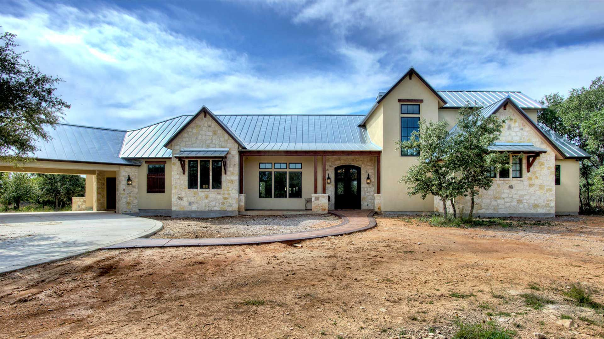 Garner Homes Hill Country Country Style House Plans Texas Hill Country House Plans Country Home Exteriors