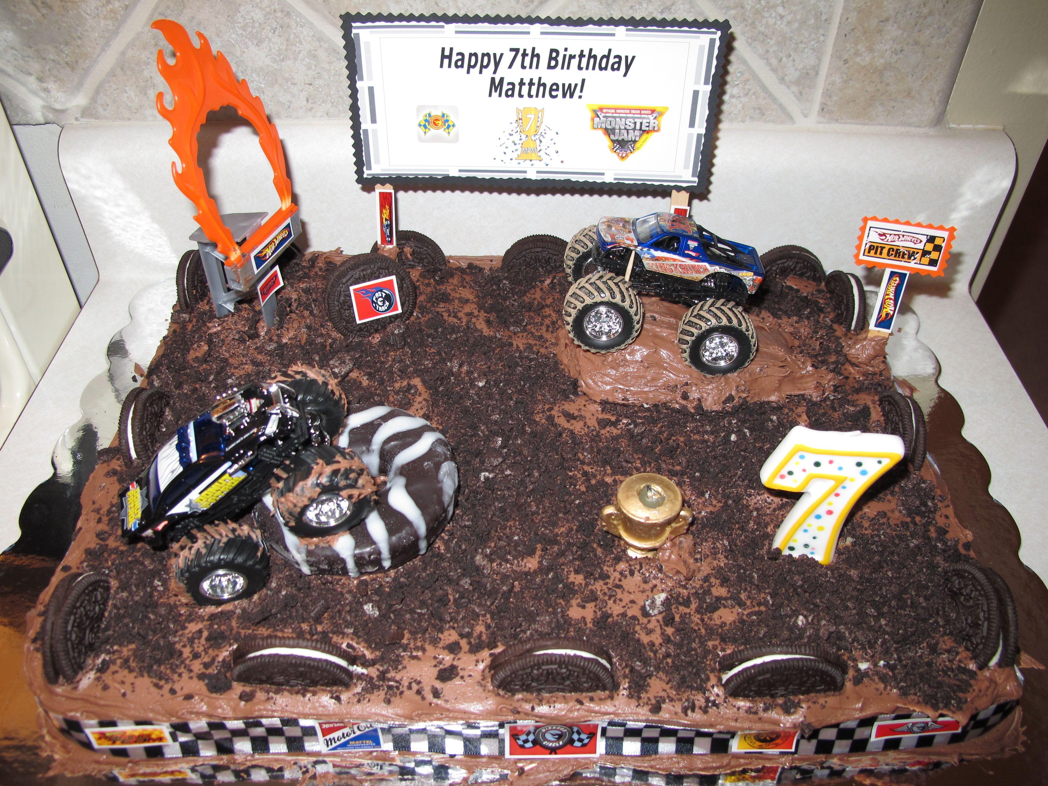 monster truck cake cake decorating pinterest truck cakes