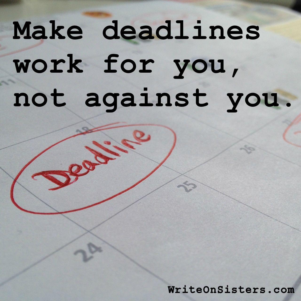 Deadlines Helpful Or Harmful