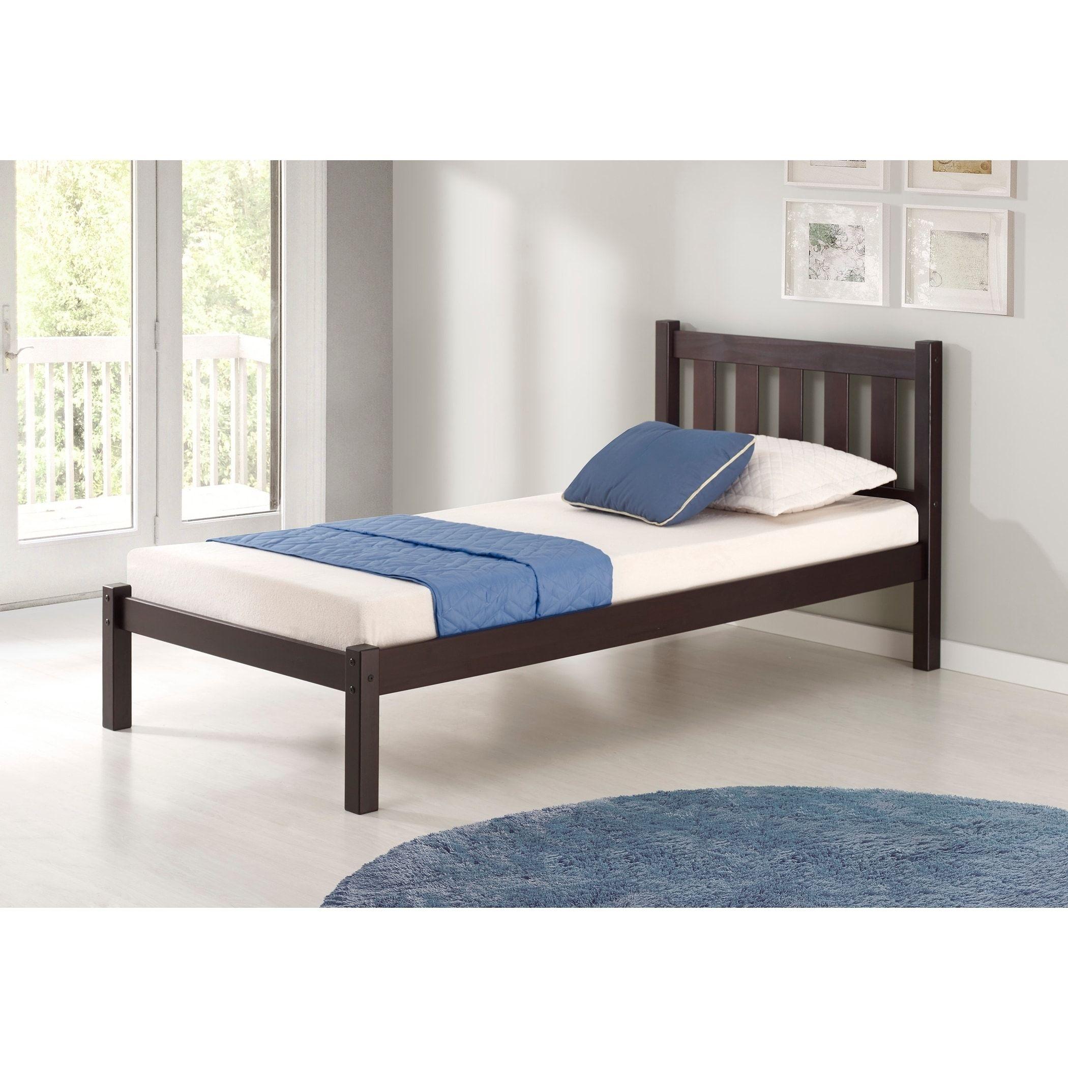 Poppy Twin Bed Espresso Brown Bolton Furniture Pinterest