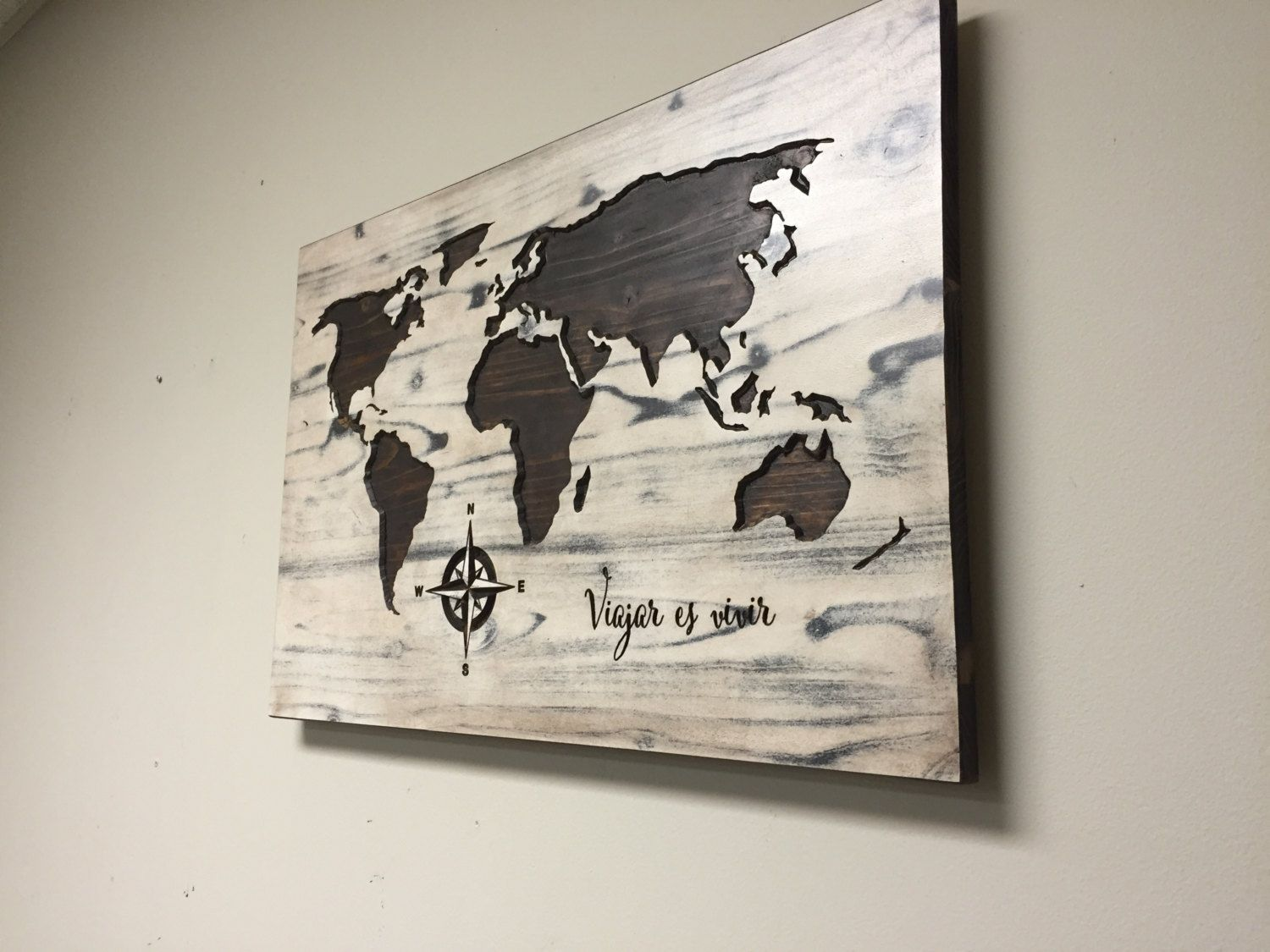 Carved world map wall art wooden world map wood decal world map carved world map wall art wooden world map wood decal world map poster gumiabroncs Choice Image