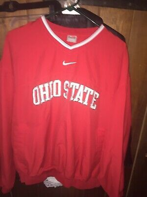 Ohio State Buckeyes Pullover Jacket | eBay