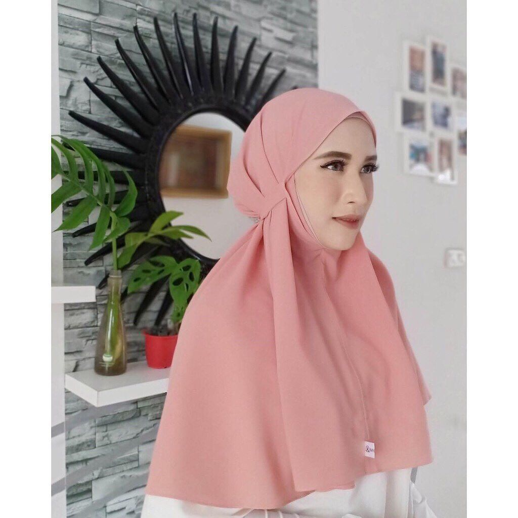 Hijab Instan Bergo Tali Jilbab Instan Mini Model Pakaian Hijab Gaya Hijab Pola Pakaian Dalam