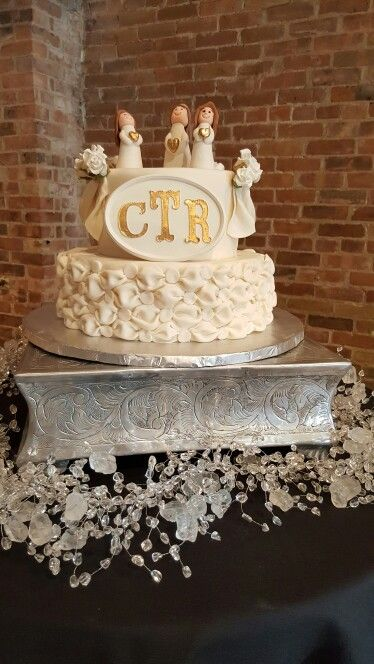 Lds Baptism CTR Cake | cakesbysocorro.com | Pinterest
