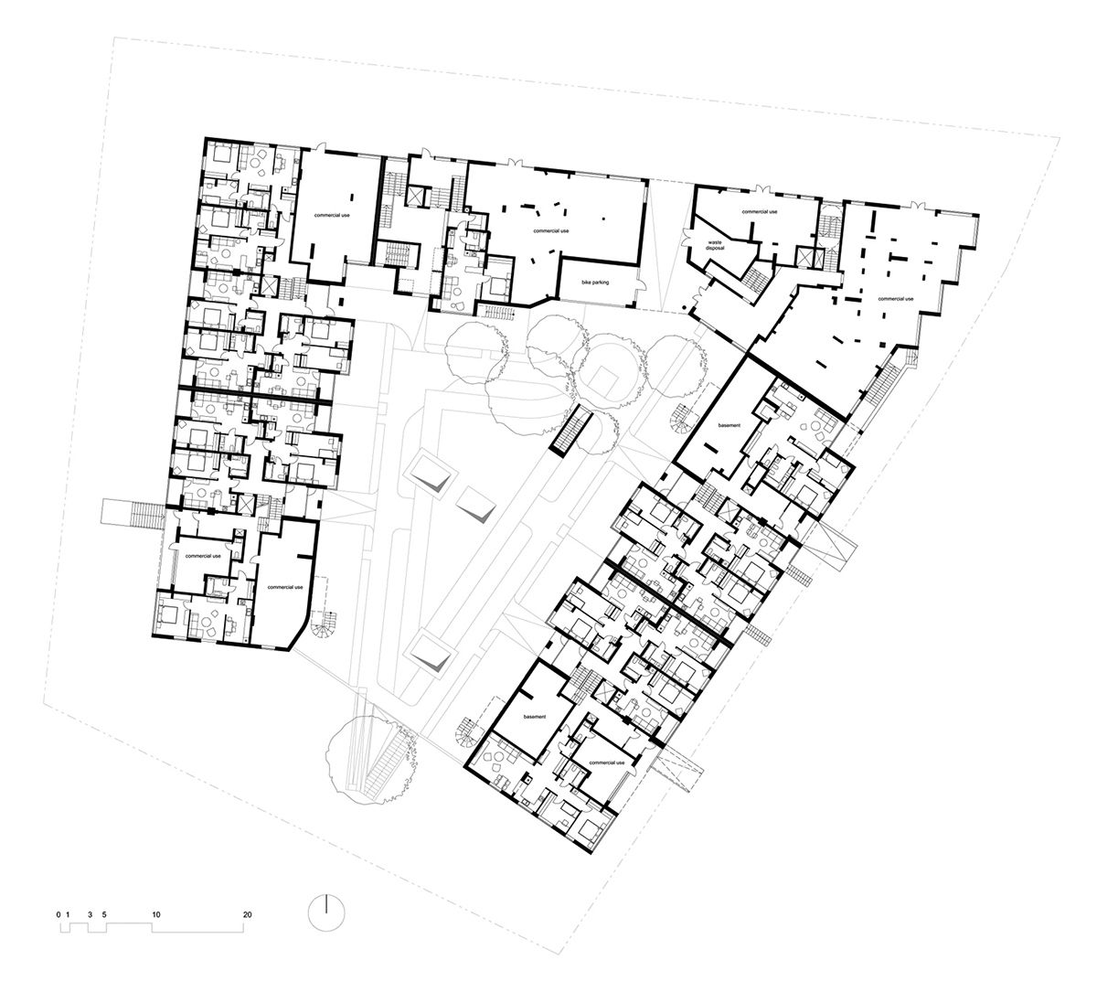 Design And Visualizations Of The Residential Quarter