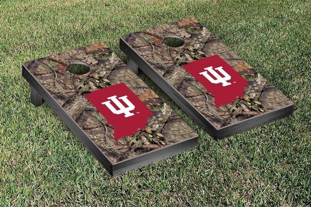 Indiana Hoosiers Mossy Oak Bag Toss Cornhole Game Corn