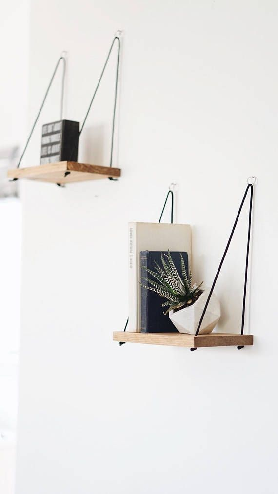 Photo of 1 PETIT shelf / hanging shelf / floating shelf / swing shelf – #floating #Hangin… – Diydekorationhomes.club