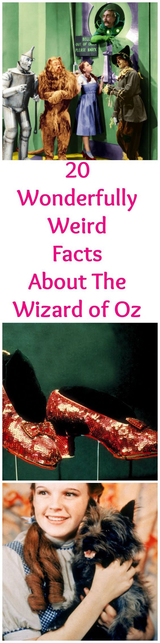 The Ruby Slippers in The Wizard of Oz Were Originally