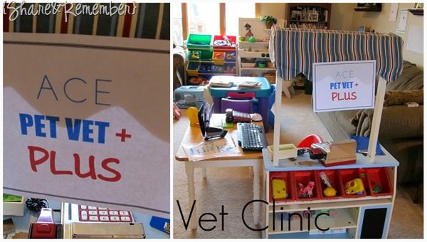 Share And Remember Ace Pet Vet Plus Dramatic Play Dramatic