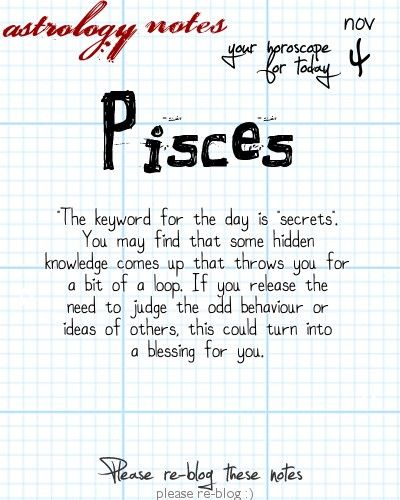 Want tomorrow's Pisces horoscope?   Visit iFate.com today!