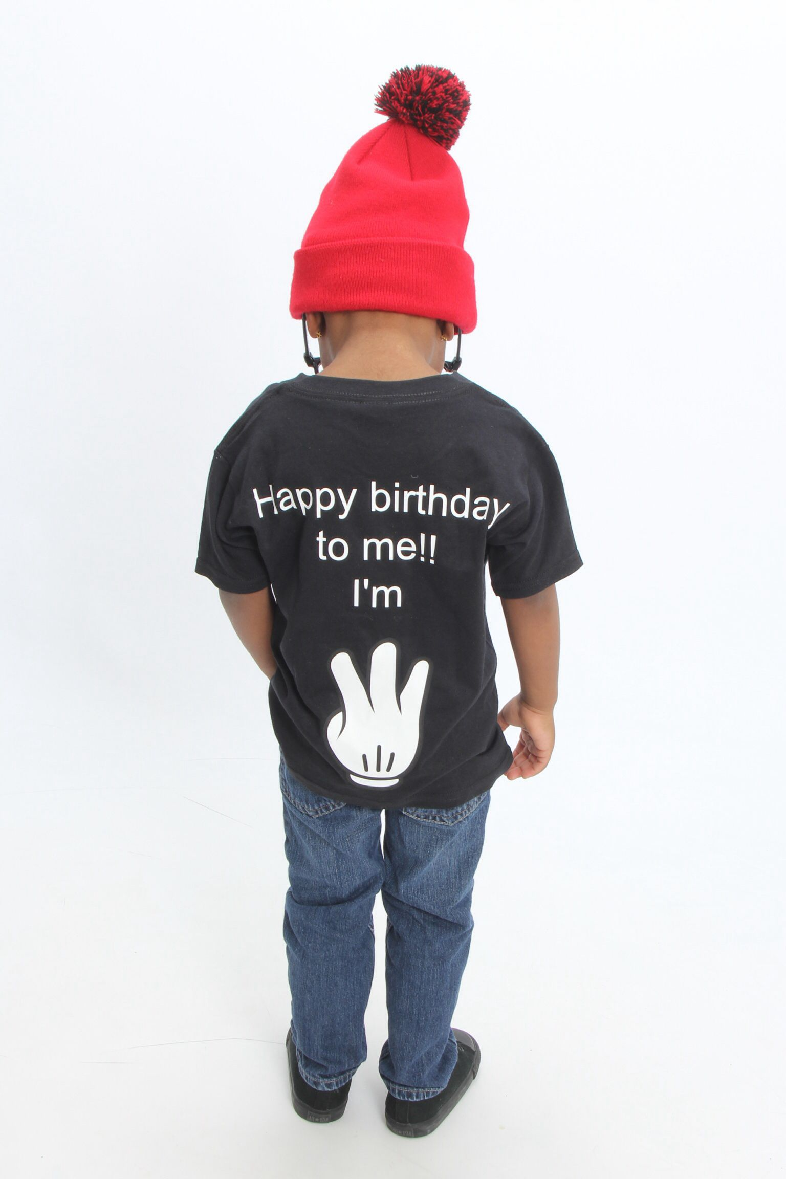 Kids Fashion My Son 3 Year Old Bday Photoshoot Happy Birthday To Me Im Designed By