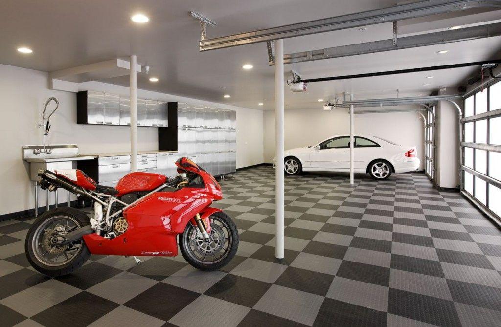 luxury garage interiors   Garage Interior   Garage ...