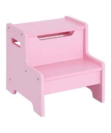 Look what I found on #zulily! Expressions Step Stool Pink #zulilyfinds