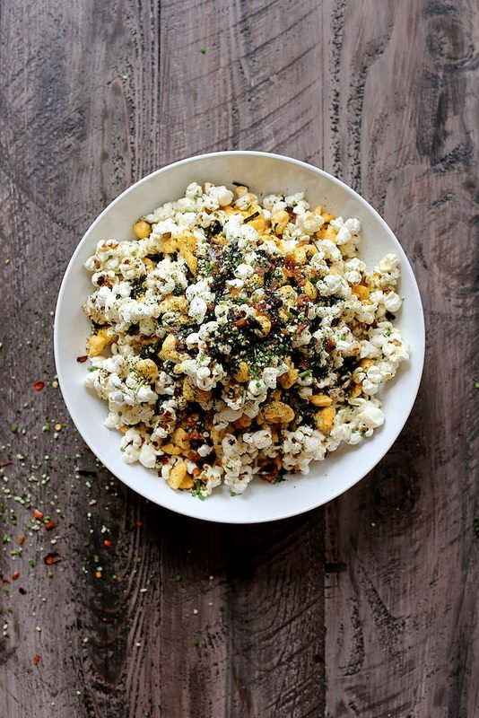Roy Choi's Furikake Kettle Corn, a food drink post from the blog Joy The Baker, written by joy on Bloglovin'