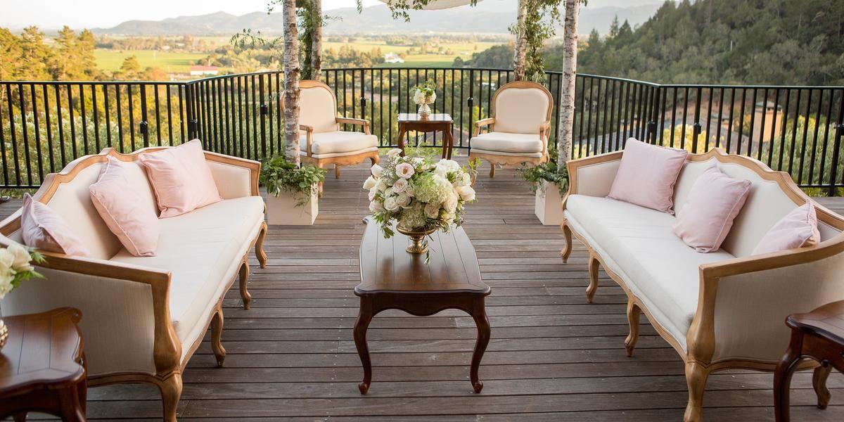 Auberge du Soleil Weddings Get Prices for Napa/Sonoma