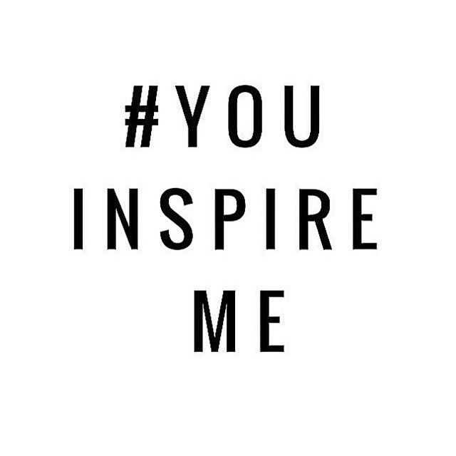 who inspires you here on Instagram? #word #pinterest #inspire