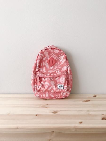 Heritage Backpack - Aloha Georgia Peach Brand  Herschel Supply Co. Color   Pink Description 9d3bbf5dba5ea