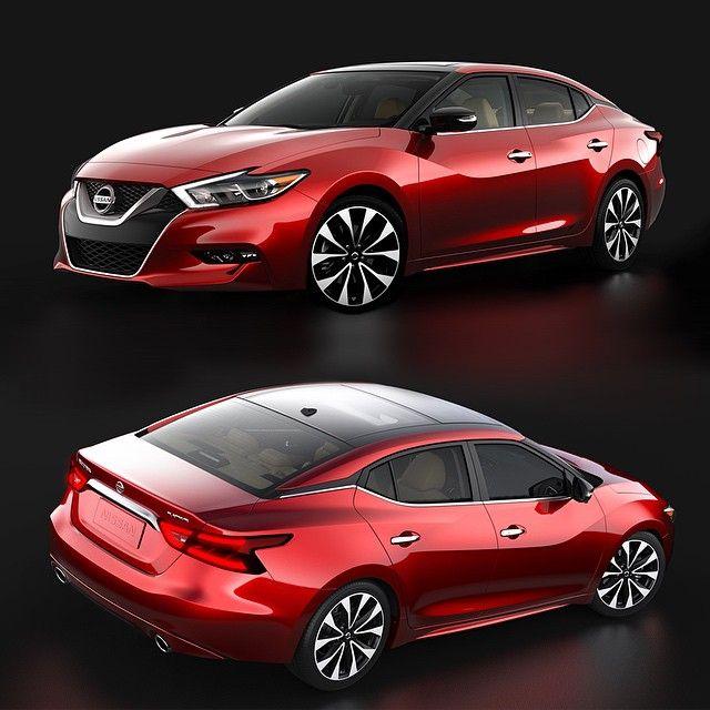 """The All-new 2016 #Nissan #Maxima 4-Door Sports Car"